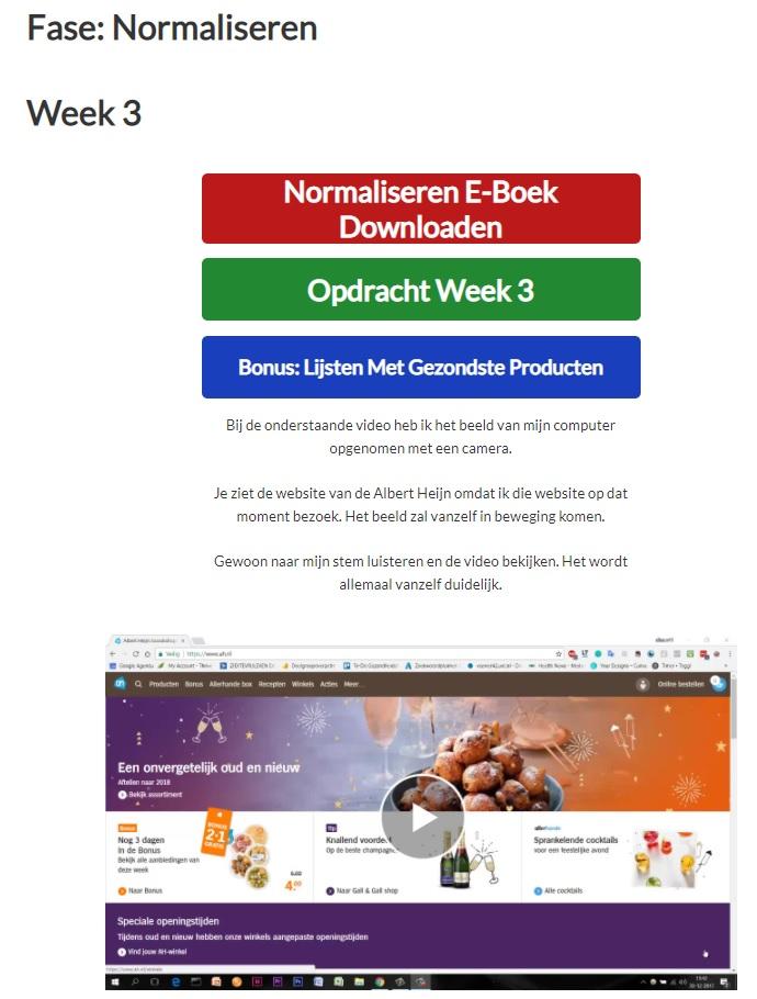 Diabetes Omkeren Methode cursus week 3